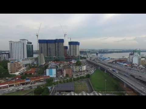 Johor Bahru City Iskandar Malaysia, October 2016