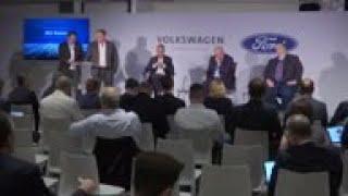 VW, Ford announce alliance on autonomous vehicles