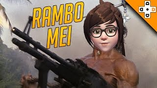 Overwatch Funny & Epic Moments 72 - RAMBO MEI - Highlights Montage