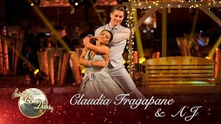 Claudia Fragapane & AJ Viennese Waltz to 'Breakaway' by Kelly Clarkson - Strictly Come Dancing 2016