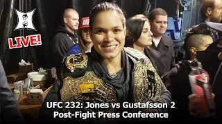 UFC 232 Post-Fight Press Conference: Jones,  Gustafsson, Nunes, Cyborg, Chiesa + Dana White (LIVE!)