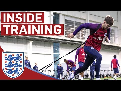 Xxx Mp4 Pre Activation Training Drills With The England Team Inside Training 3gp Sex