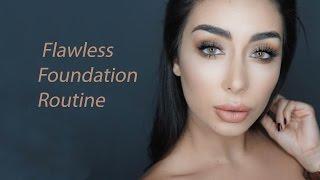 Flawless Foundation - الطريقة الصحيحة لوضع كريم الاساس