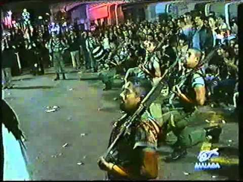 Escuadra de gastadores con la legion no se juega. Semana Santa Málaga 1995