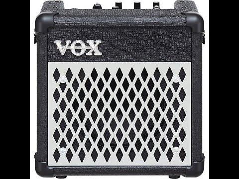 Vox DA5 DC Powered Modeling Amp Ed Dana Guitar