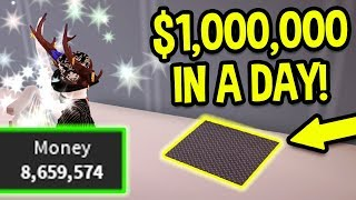 ROBLOX JAILBREAK HOW TO GET 1 MILLION DOLLARS IN A DAY! *NEW SECRET ROUTE!* (Fastest Free Method)