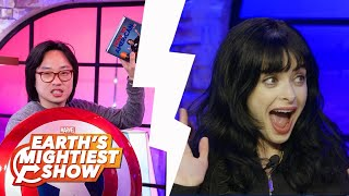 Jimmy O. Yang and Krysten Ritter on Earth's Mightiest Show