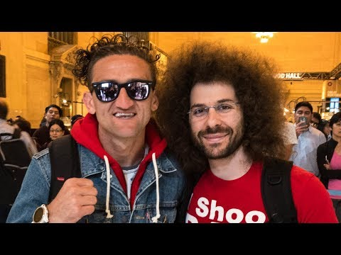 VLOG: I Met CASEY NEISTAT at the DJI SPARK Event in NYC