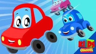 Little Red Car | Car City Rules | Rhymes For Kids