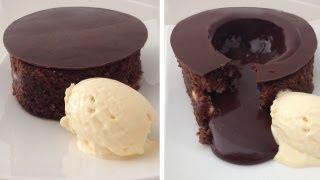 Magic Chocolate Lava Cake by ANN REARDON HowToCookThat