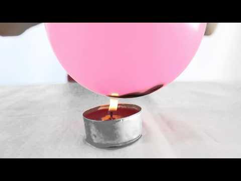 El globo que no explota Experimentos caseros para niños