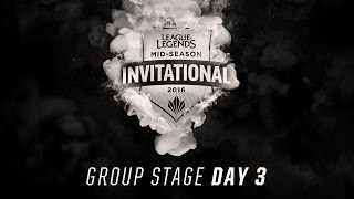 CLG vs SKT - Mid-Season Invitational: Group Stage Day 3