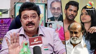 SV Sekar Against Vishal : Interview | Nadigar Sangam, Suchitra Leaks & Producer Council