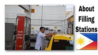Filipino Gas Stations - Best of all worlds! - My #Kwento