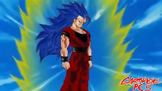 Goku turns Super Saiyan 7!