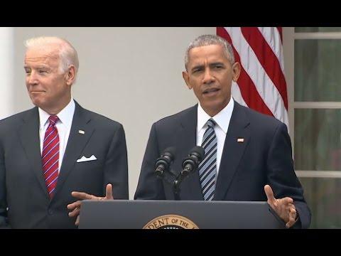 watch President Obama Full Speech on Donald Trump Win