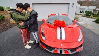 BUYING A FERRARI 488 PISTA AT AGE 19! (emotional)