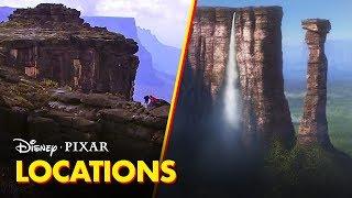 Pixar Did You Know? | The Real Places Behind the Films | Disney•Pixar
