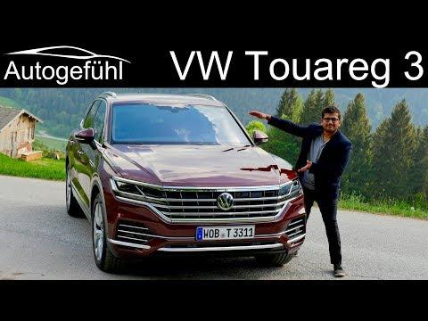 VW Touareg 3 FULL REVIEW driving 2019 Volkswagen Touareg III Autogefühl