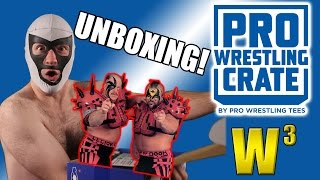 Pro Wrestling Crate Unboxing! (October 2016) | Wrestling With Wregret