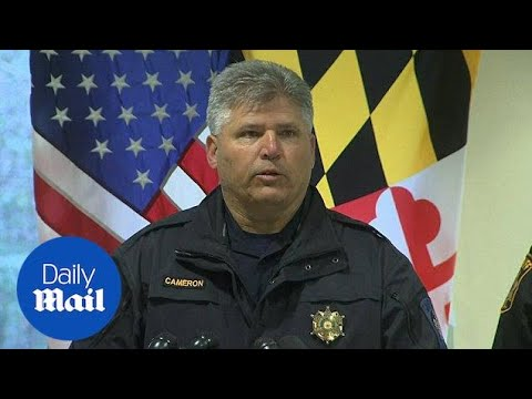Xxx Mp4 Gunman Dead After Maryland High School Shooting Police Say Daily Mail 3gp Sex