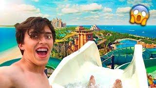 Me Lance Del TOBOGÁN mas ALTO | Six Flags Parque Acuático | XAM
