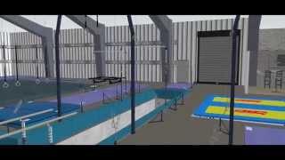 3D Gym Design - evo Athletics