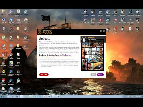 How to get rockstar activation code for gta 5