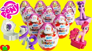 My Little Pony Kinder MAXI Surprise Eggs