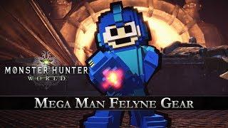 Monster Hunter: World - Mega Man Collaboration Gear