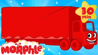 My Magic Truck - My Magic Pet Morphle vehicle compilation for kids