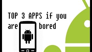 TOP 3 Apps to KILL TIME   FREE 2016
