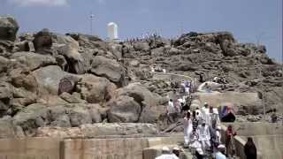 At Jabal Arafat / Jabal Al Rahmah, Makkah, Saudi Arabia 09.04.2012 جبل عرفات جبل الرحمة مكة المُكرمة