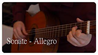 Sonate - Allegro by G. A. Brescianello