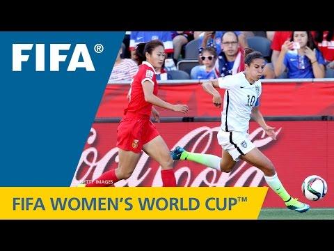 watch HIGHLIGHTS: China PR v. USA - FIFA Women's World Cup 2015