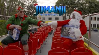 JUMANJI: THE NEXT LEVEL - Santa and Dwelf Are Coming To Town