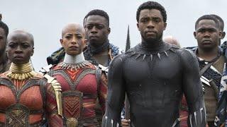 Avenger Infinity War  Wakanda Forever Scene