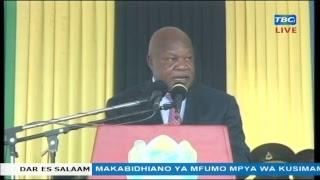 LIVE:  Waziri Kamwelwe alipomnyanyua Simbachawene mbele ya Rais Magufuli