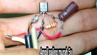 Ampli micro paling sederhana pake 1 tr c945