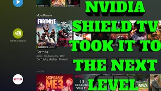 NVIDIA SHIELD TV TOOK IT TO THE NEXT LEVEL! GEFORCE NOW ON SHIELD TV GETS A MAJOR UPGRADE