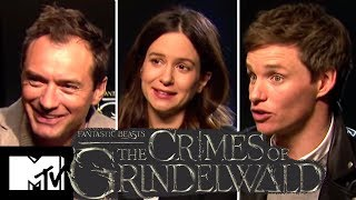 Fantastic Beasts 2 Cast Reveal Alternate Ending & Deleted Prof. McGonagall Scenes | MTV Movies