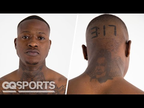 Xxx Mp4 Terry Rozier Breaks Down His Tattoos GQ 3gp Sex