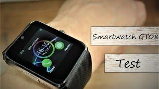 20€ China Smartwatch GT08 im Test