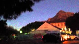 ufo sighting cape town 11 june 2013