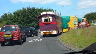 👍Lorry Road train mobile home circus?