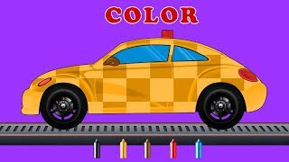 Kids TV Channel | Follow Me Car Car | Color Song | Learning Video For Kids