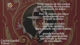 Carlos Gardel - Volver (Letra-Lyrics)