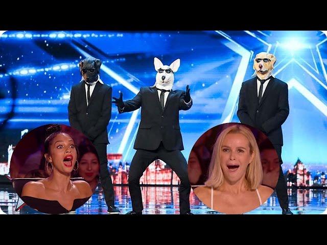 The BEST FUNNY Auditions Britan's Got Talent 2017 Week 1