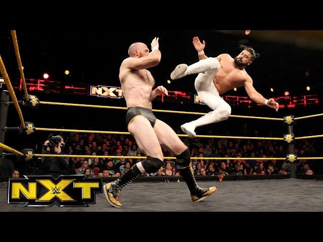 "Oney Lorcan vs. Andrade ""Cien"" Almas: WWE NXT, Jan. 11, 2017"