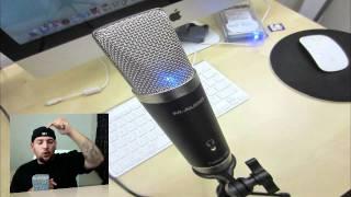 M-Audio Producer USB Mic Audio Test .